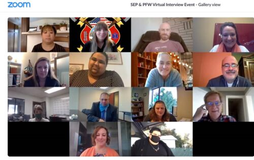 2020 Partners for Work Virtual Interview Event